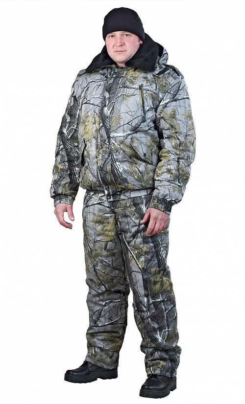 Купить Костюм утепленный НОРД (куртка+п.комб.), ткань смесовая, цвет лес, , Энергия спецодежда