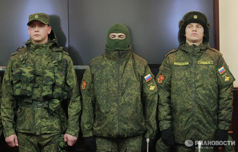 modern russian military uniforms - 650×433