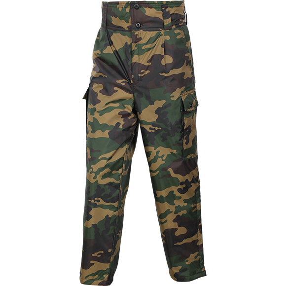 Брюки утепленные лес оксфорд, Тактические брюки - арт. 20080344