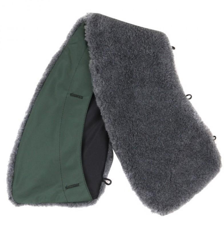 Купить Воротник искусственный мех зеленый, Компания «Сплав»