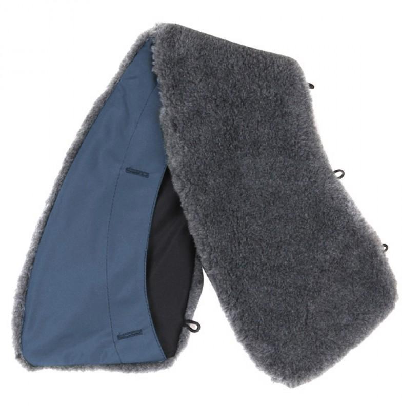 Купить Воротник искусственный мех синий, Компания «Сплав»