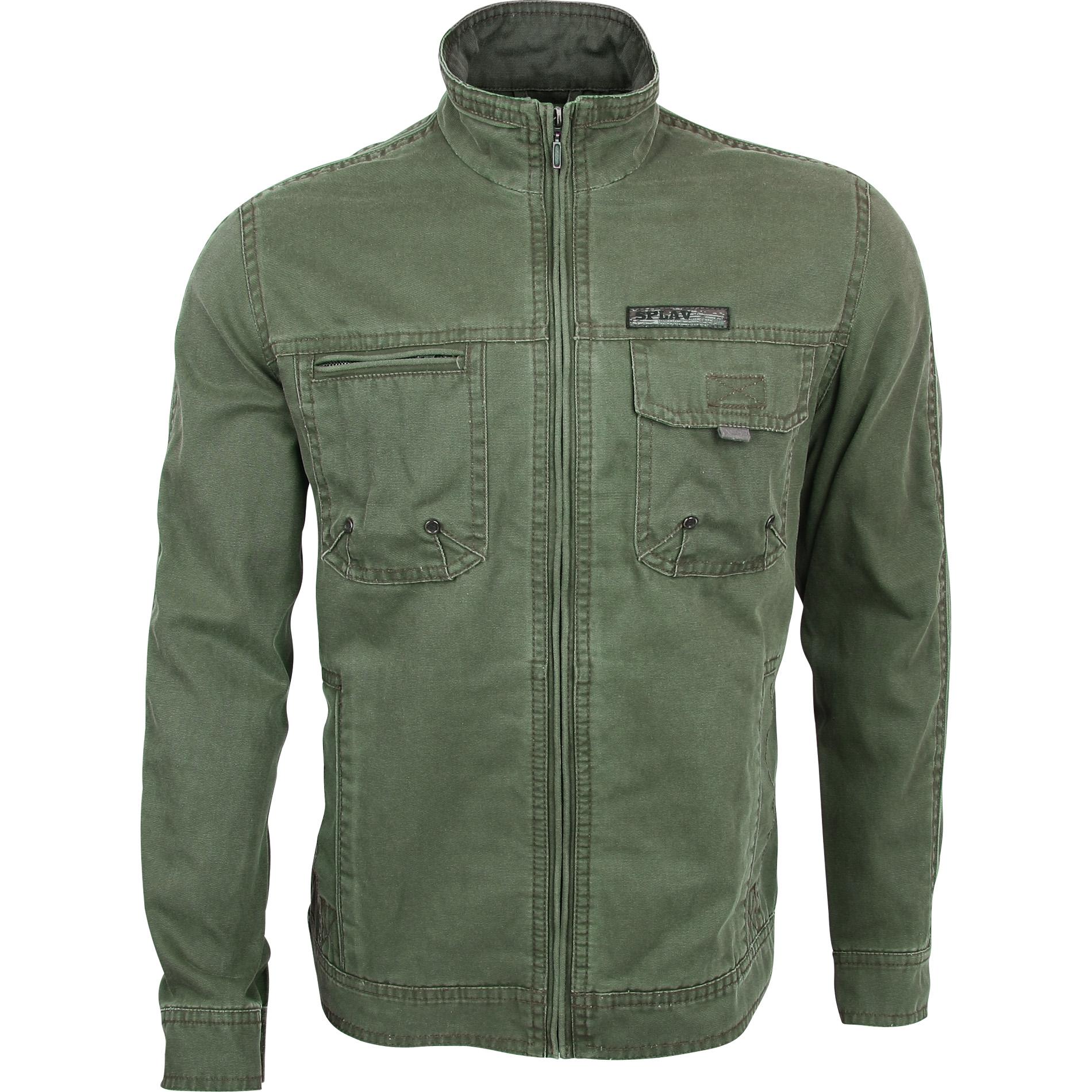 Куртка Andorra Vintage оливковая