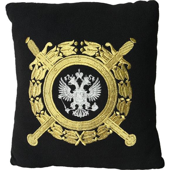 Подушка сувенирная МОБ вышитая