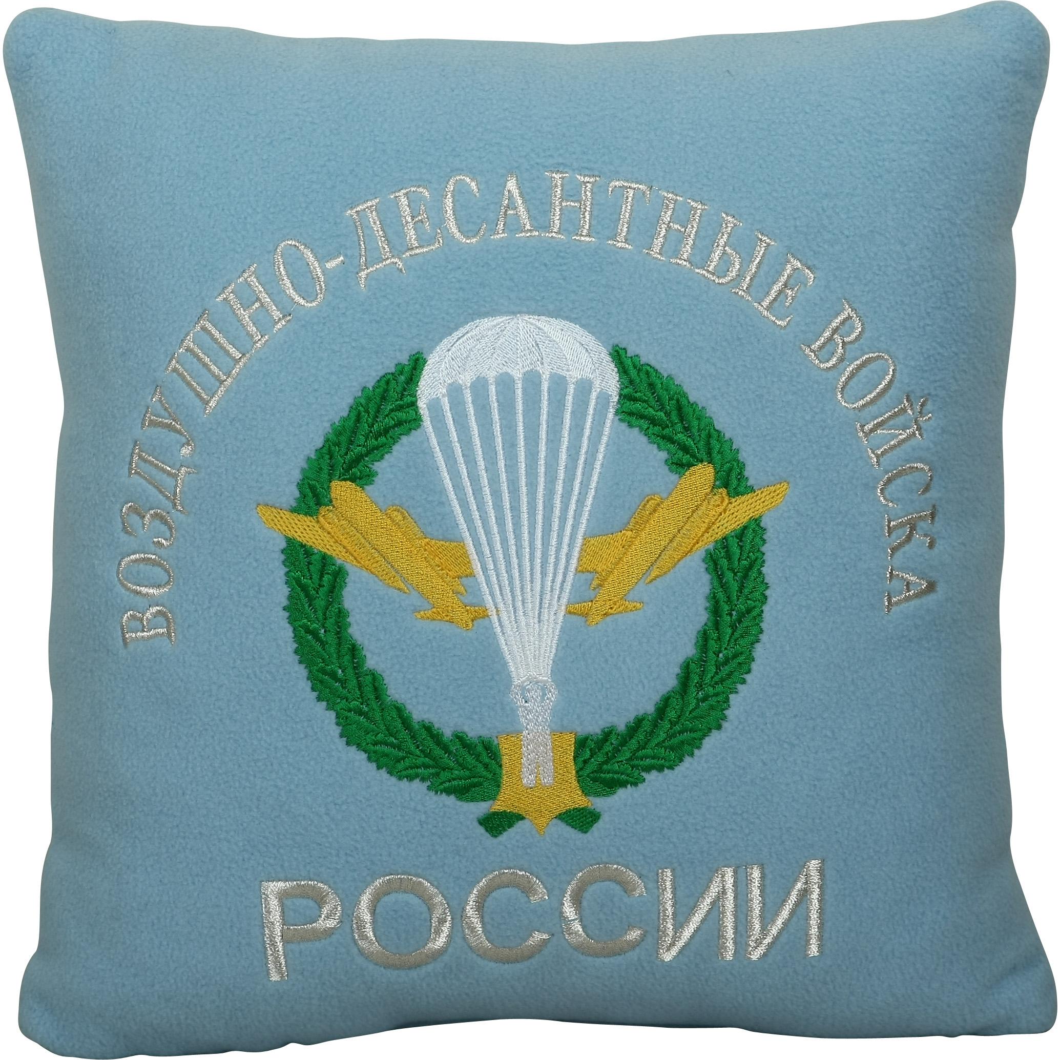 Подушка сувенирная ВДВ России вышитая