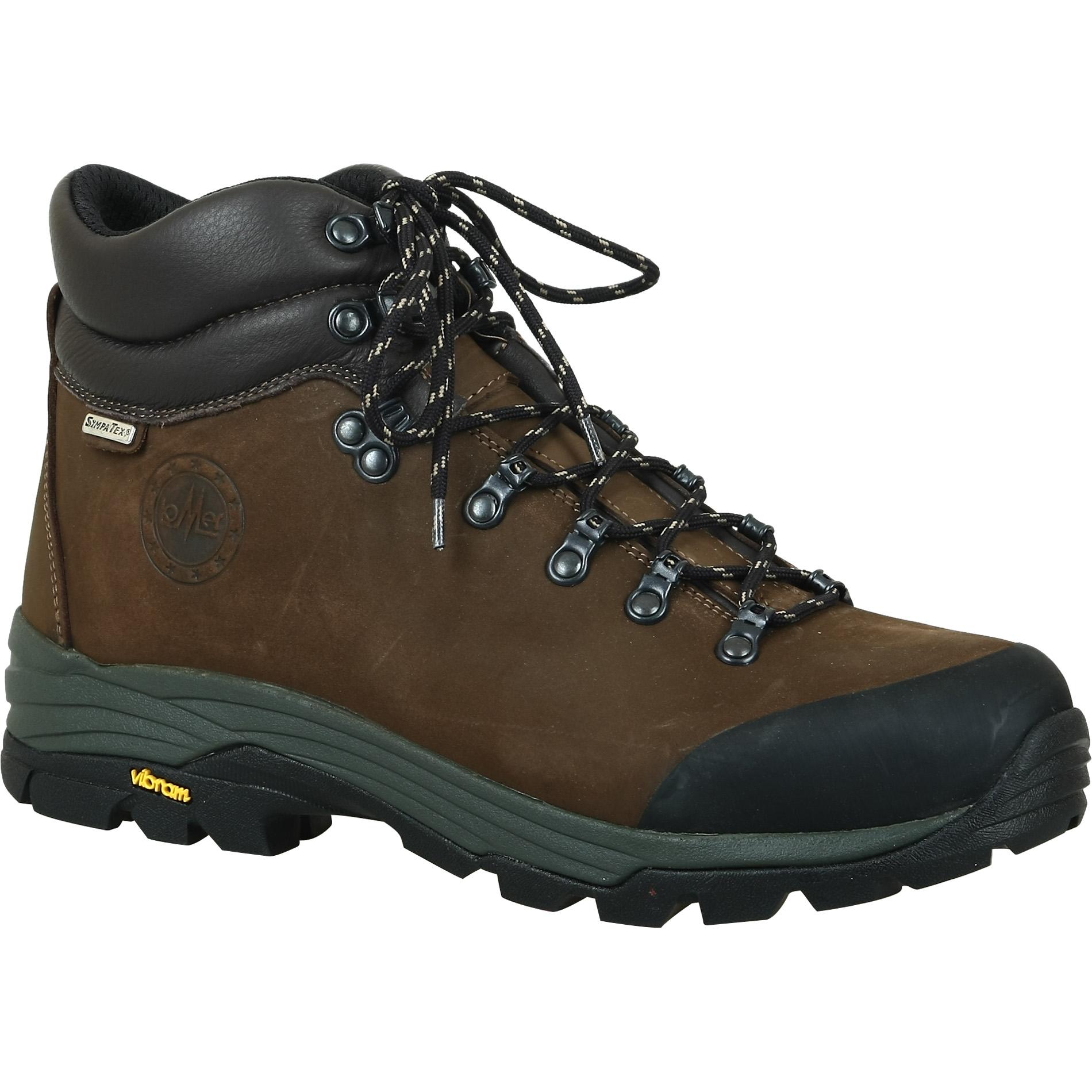 Ботинки трекинговые LOMER Tonale brown/black, Треккинговая обувь - арт. 871130252