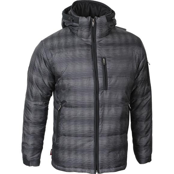Куртка Stout Primaloft черно-серый меланж, Куртки из Softshell и Windbloc - арт. 290450329