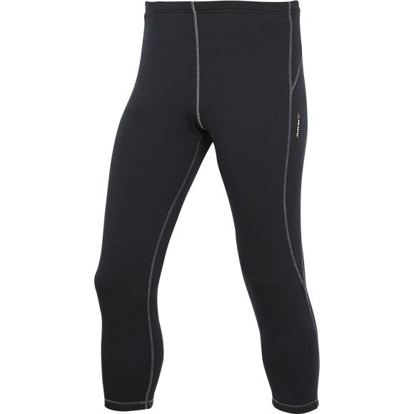 Термобелье брюки 3/4 Active Polartec Thermal Grid light черные