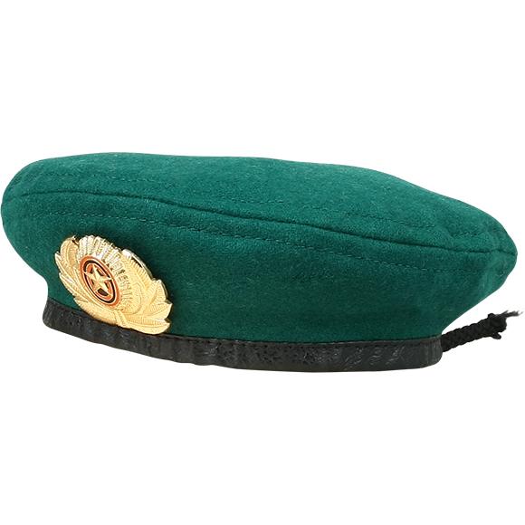 Купить Берет сувенирный зелёный один знак, Компания «Сплав»
