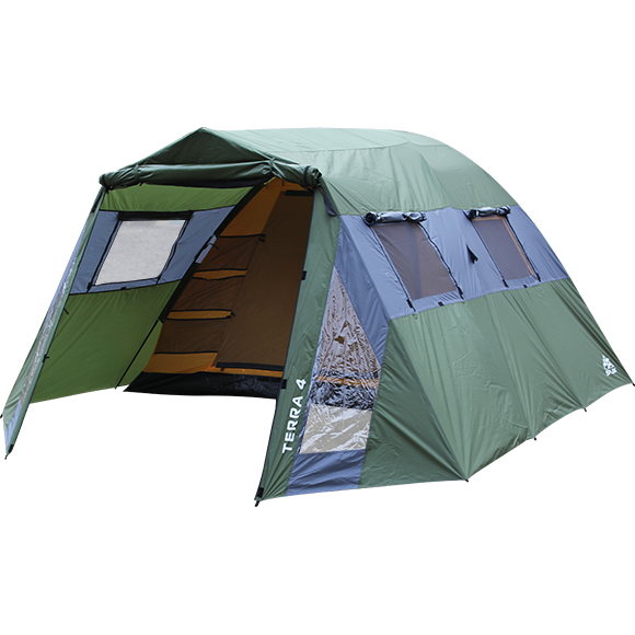 Палатка Terra 4, Палатки четырехместные - арт. 323130322