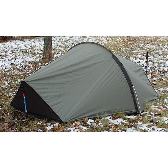 Тент каркасный Nomad 2х местный олива, Палатки двухместные - арт. 311880320