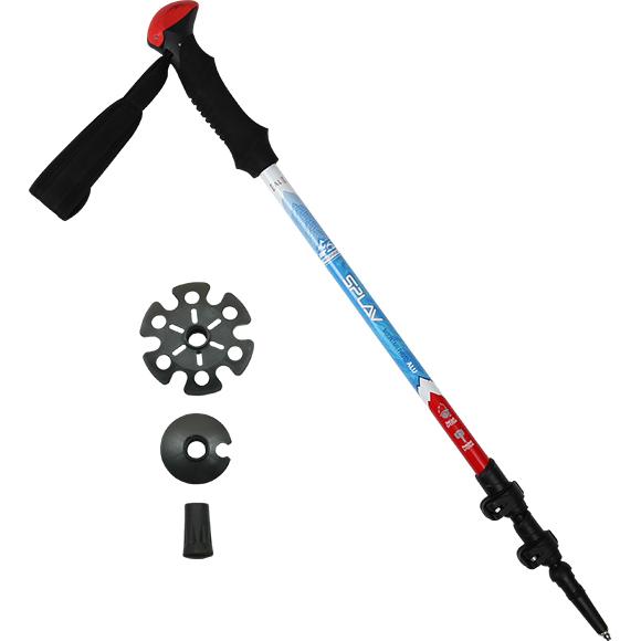 Купить Треккинговая палка Mountain Photo Alu 1 шт, Компания «Сплав»