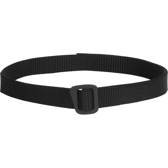 Ремень Simple 30 мм черный с черной пряжкой