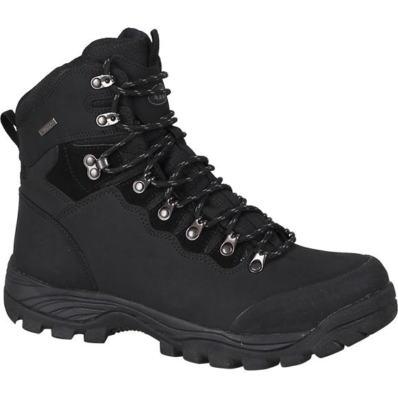 Ботинки трекинговые THB Kongur с мембраной черные
