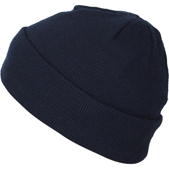 Шапка вязанная двойная Thinsulate синяя