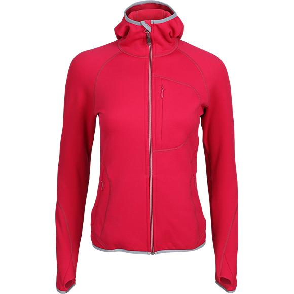 Купить Куртка женская Function с капюшоном брусничный, Компания «Сплав»