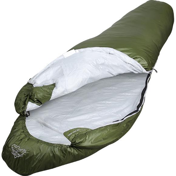Спальный мешок Mega Light 80 205x75x50 зеленый L, Кемпинговые (Лето) спальники - арт. 855330372