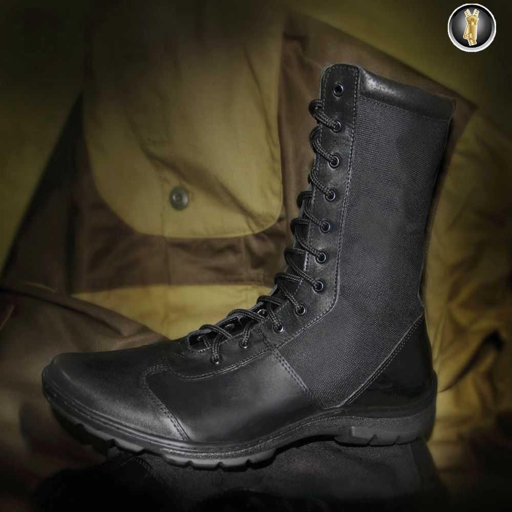Купить Ботинки Гарсинг 5252 Extreme Light II с высокими берцами, цвет - черный, Garsing