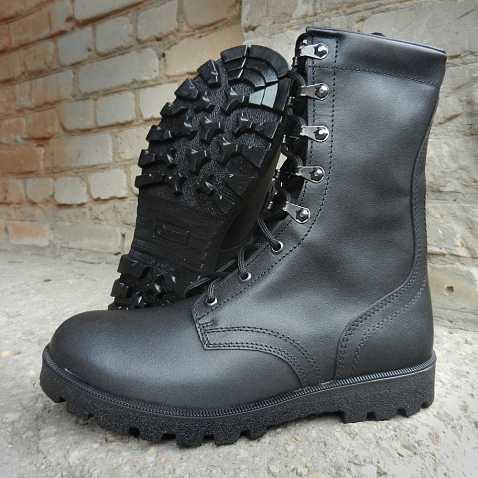 Купить Ботинки с высокими берцами Гарсинг 05106 Stranger, цвет - черный, Garsing