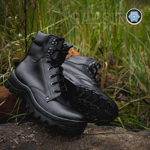 Купить Ботинки с невысокими берцами Гарсинг 329 Pilot Ultra зимние, цвет - черный, Garsing