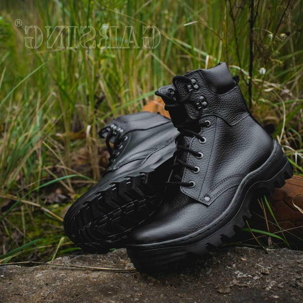 Ботинки с невысокими берцами Гарсинг 429 Pilot Ultra, цвет - черный, Garsing  - купить со скидкой