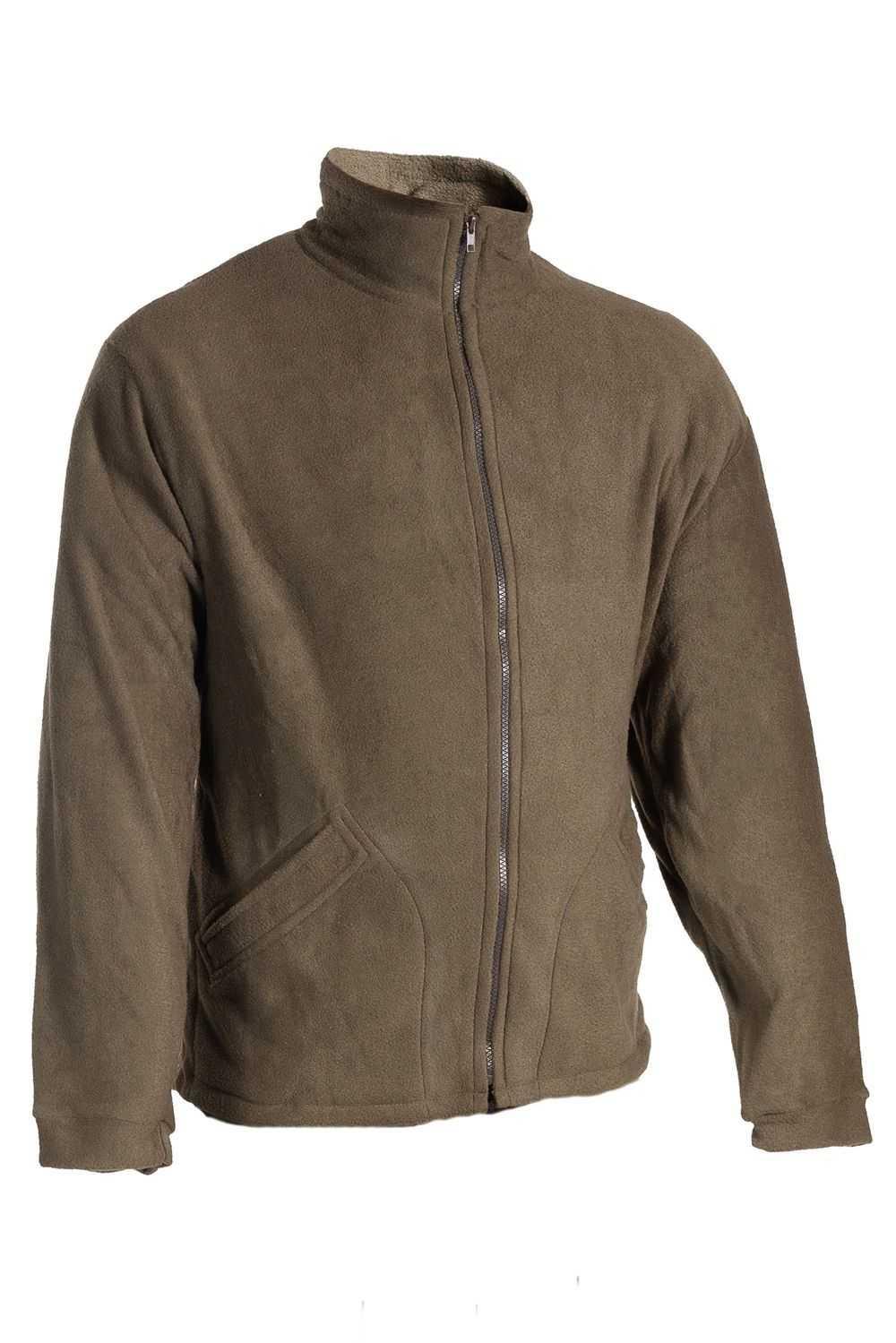 Купить Куртка флисовая Байкал Huntsman, Polar Fleece, цвет – хаки