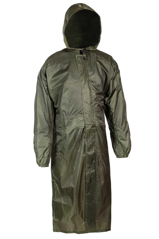 Купить Плащ влаговетрозащитный ВВЗ Huntsman, таффета рип-стоп, цвет – зеленый