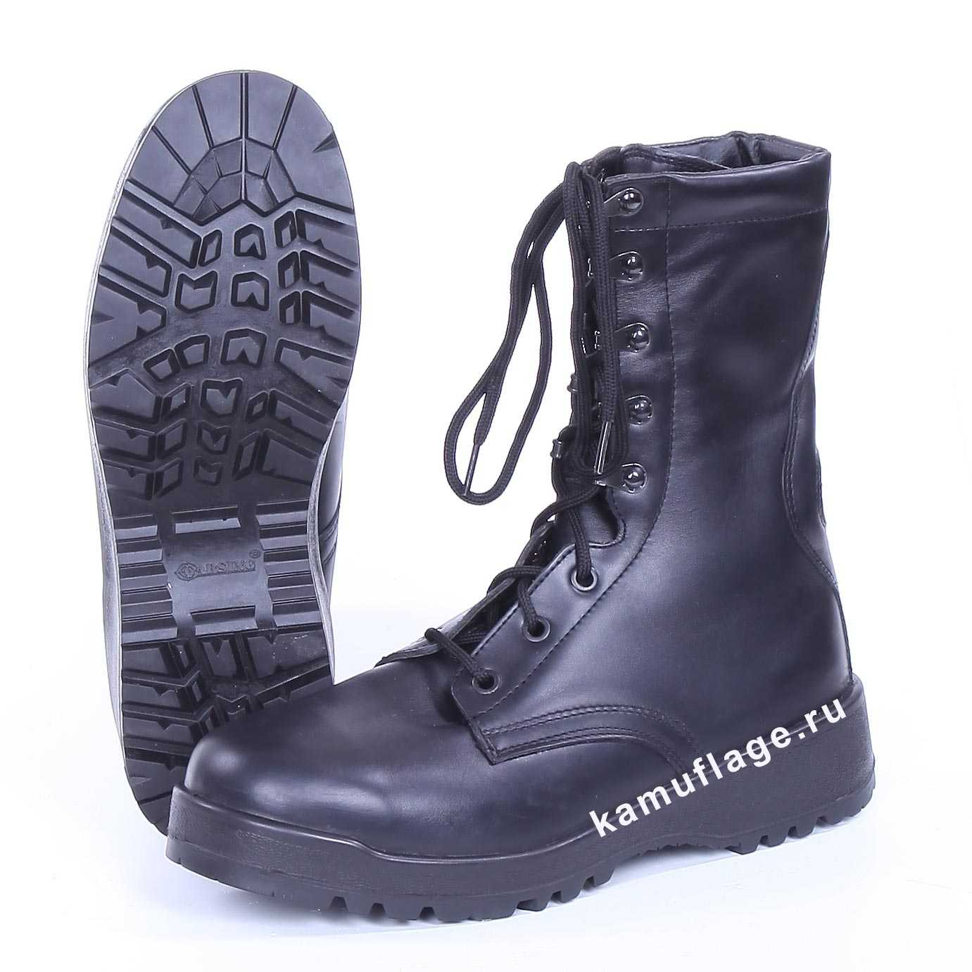 Купить Ботинки Garsing Atacker м. 501106 шерст. мех черные