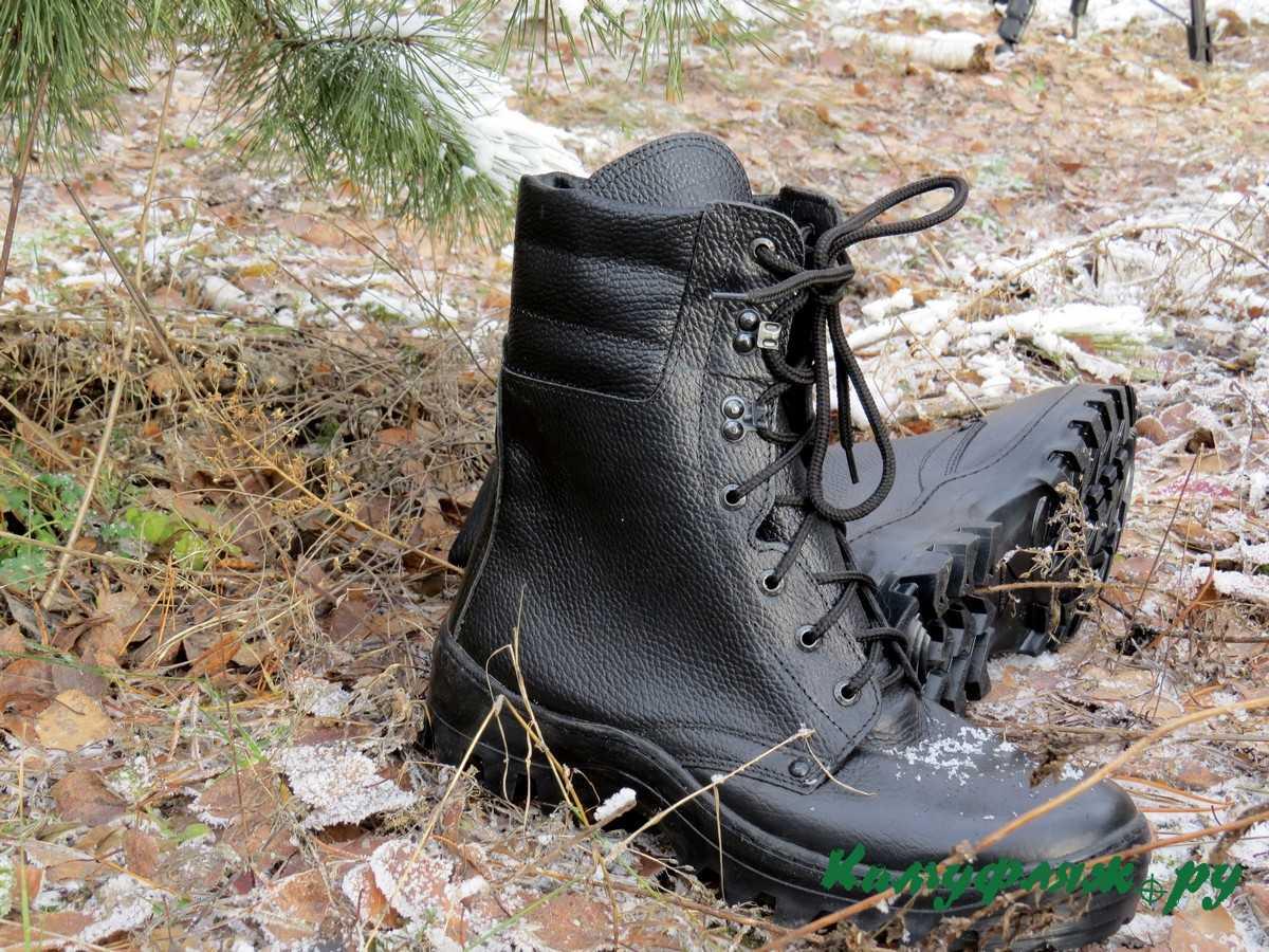 Купить Ботинки Garsing Corporal wool м. 0800 шерст. мех черные