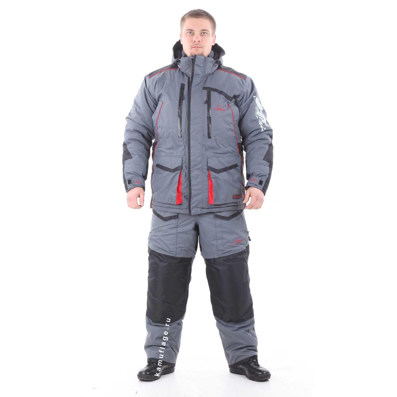 Купить Костюм Huntsman Siberia мембрана серый/черный