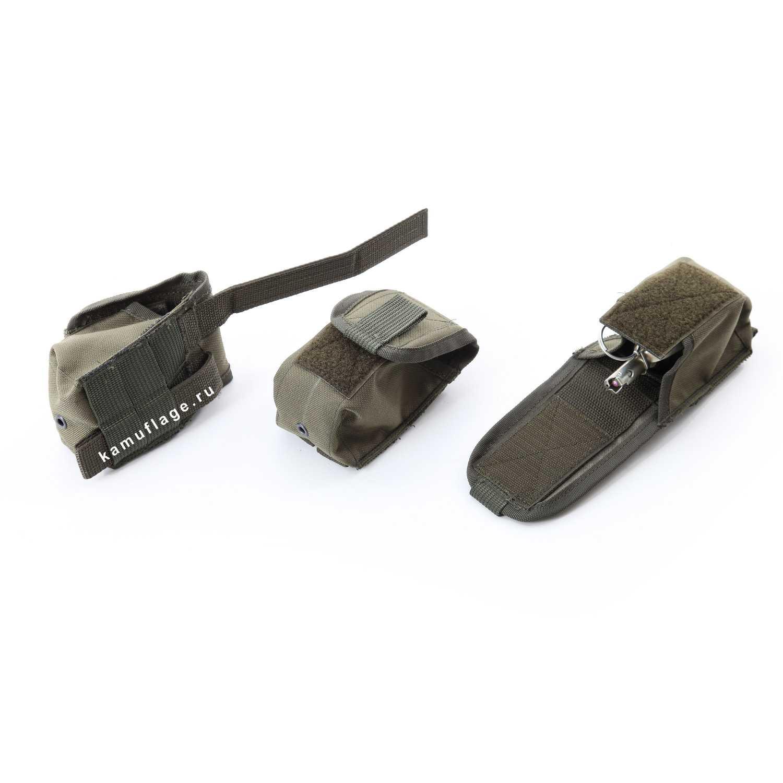 Купить Подсумок KE для гранаты с открытой крышкой олива тёмная, KE Tactical