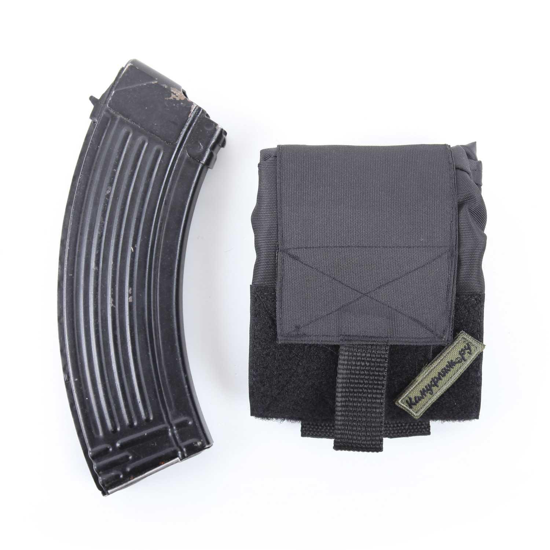 Купить Подсумок KE для сброса отстрелянных магазинов черный, KE Tactical