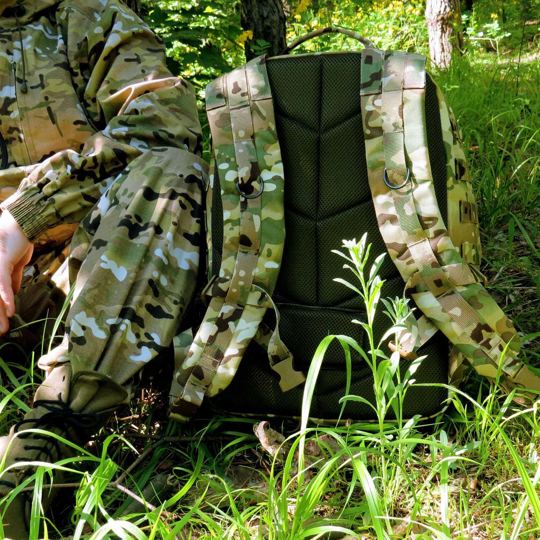 Рюкзак KE Tactical Assault 40л Cordura 1000 Den multicam со стропами multicam, Тактические рюкзаки - арт. 1026750264