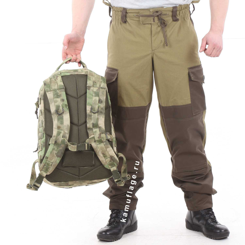 Рюкзак KE Tactical Assault 40л Nylon 900 Den A-Tacs FG со стропами A-Tacs FG, Тактические рюкзаки - арт. 1026760264