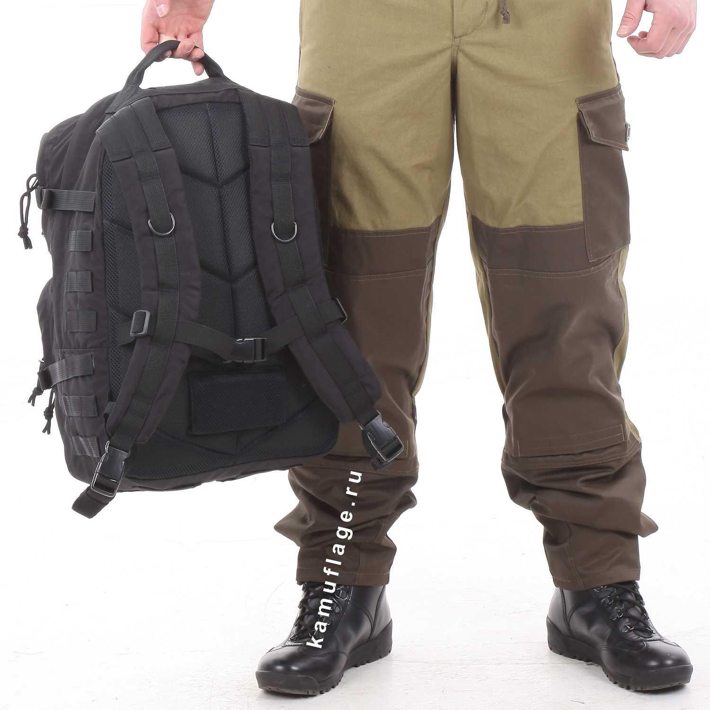 Купить Рюкзак KE Tactical Assault 40л Polyamide 500 Den черный