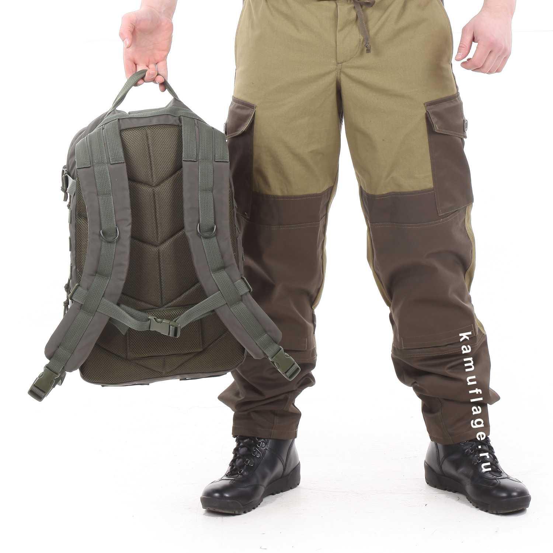 Рюкзак KE Tactical Assault 40л Polyamide 500 Den олива темная, Тактические рюкзаки - арт. 1026740264