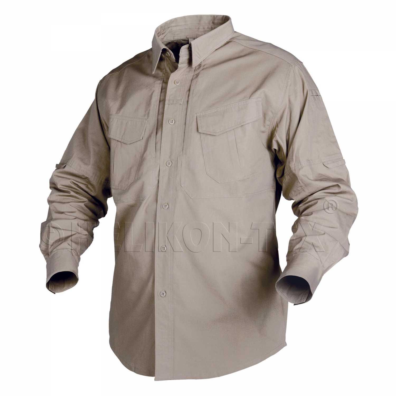 637e934ad48 Рубашка Helikon-Tex Defender с длинным рукавом khaki