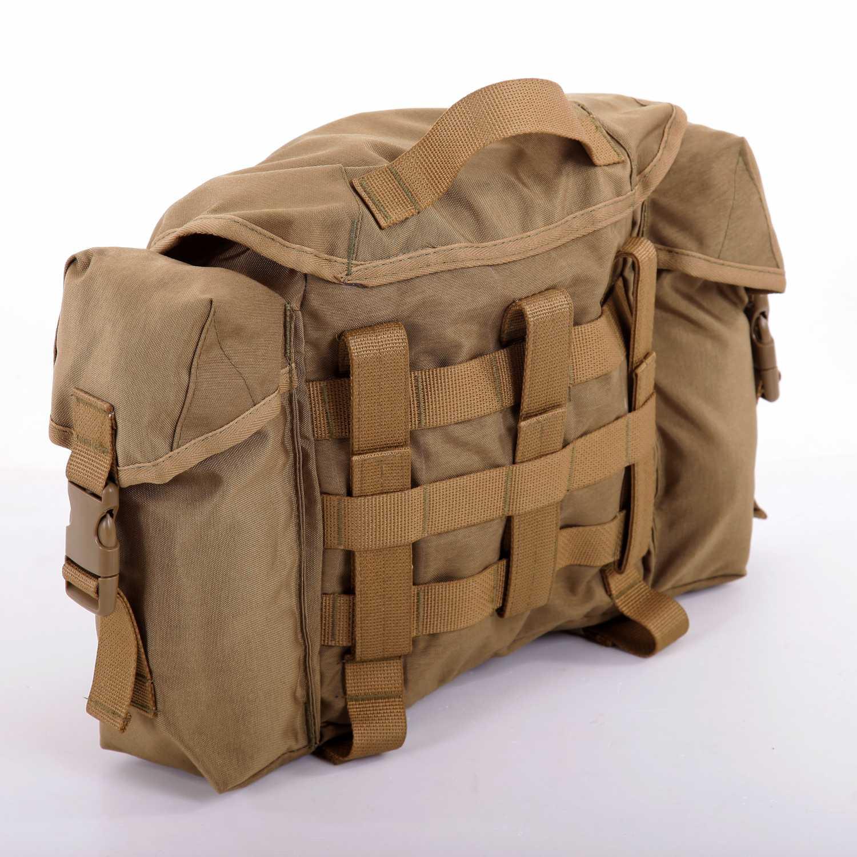 Купить Сумка KE сухарная 10 литров с боковыми карманами coyote, KE Tactical