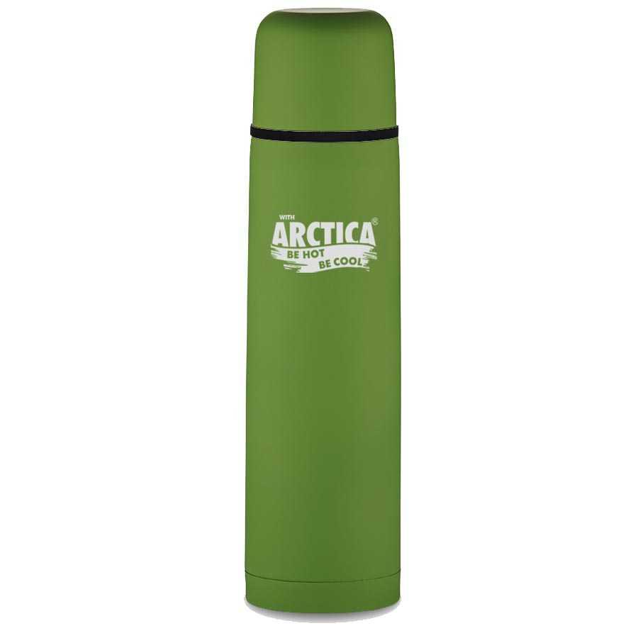 Купить Термос Арктика м. 103-750 (750 мл) с эффектом шелка зеленый