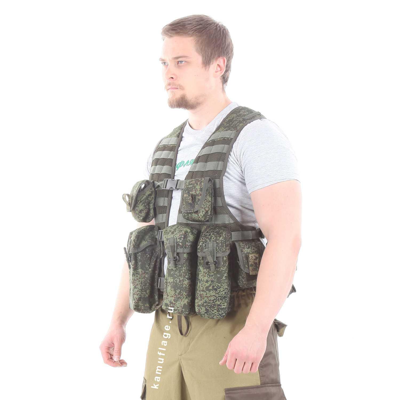 Жилет KE Скорпион с патрульными подсумками ЕМР, Разгрузки - арт. 1013870194