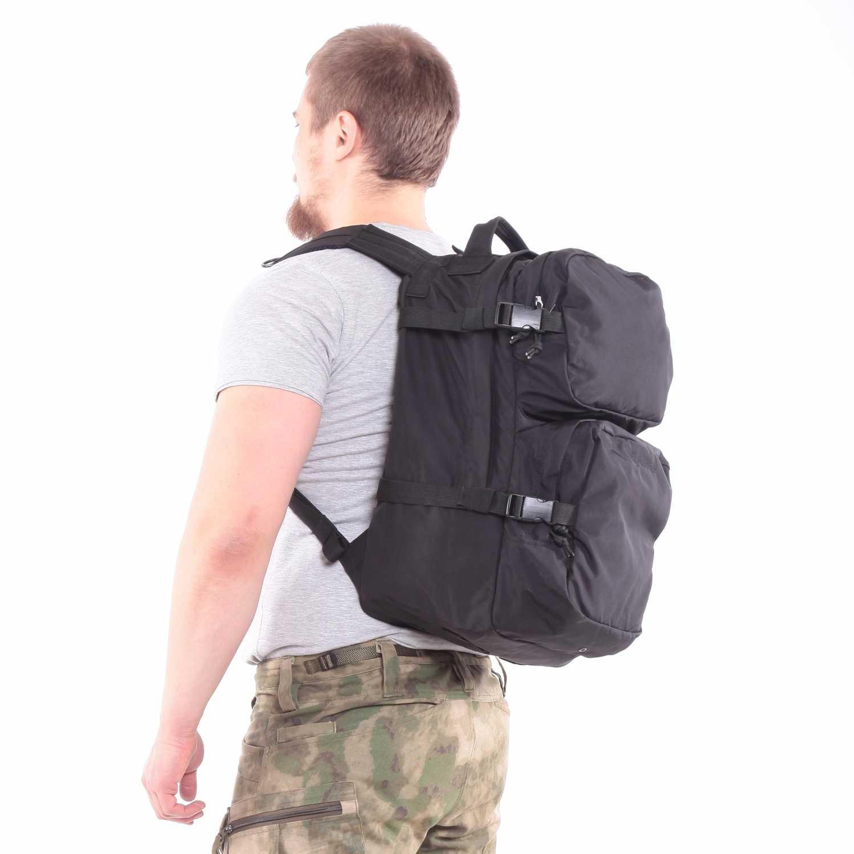 Рюкзак KE Tactical Assault 40л Polyamide 500 Den черный без строп, Прочее - арт. 1137290199