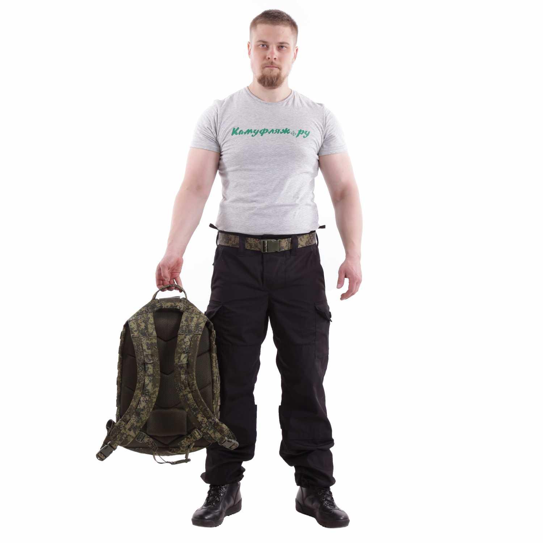 Рюкзак KE Tactical Assault 40л Polyamide 500 den ЕМР со стропами ЕМР, Тактические рюкзаки - арт. 1025010264