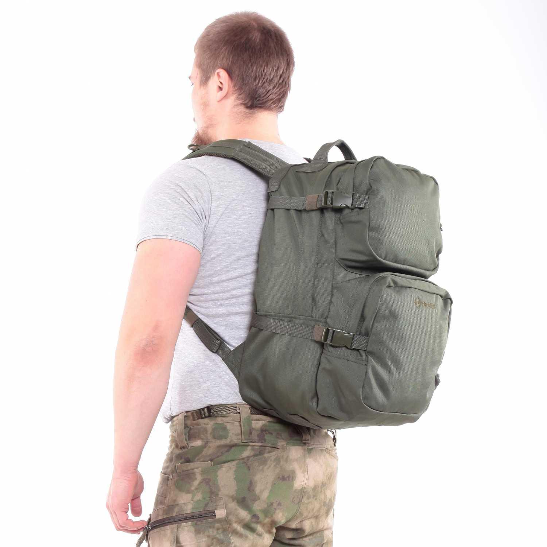 Рюкзак KE Tactical Assault 40л Polyamide 900 Den олива без строп, Прочее - арт. 1137280199