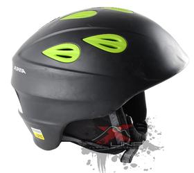 Зимний Шлем Alpina Junta 2.0 C JUNTA C black matt green, Горнолыжные и сноубордические шлемы - арт. 971000428