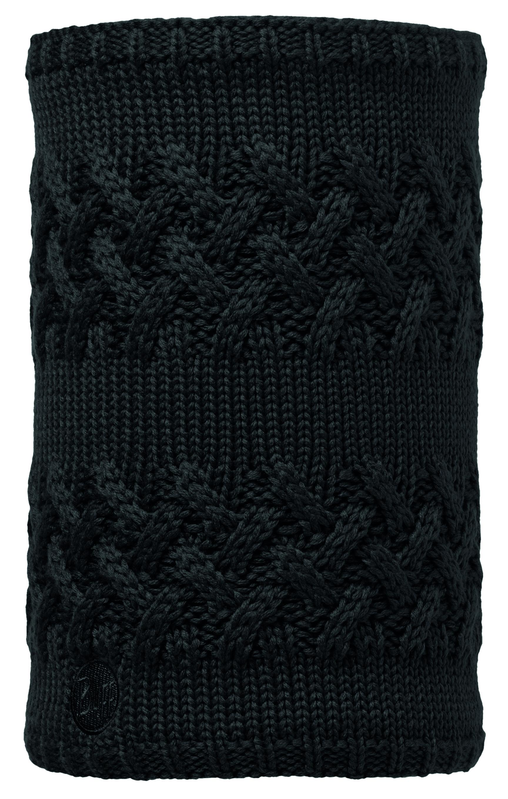 Шарф BUFF KNITTED & POLAR NECKWARMER SAVVA BLACK (US:one size)