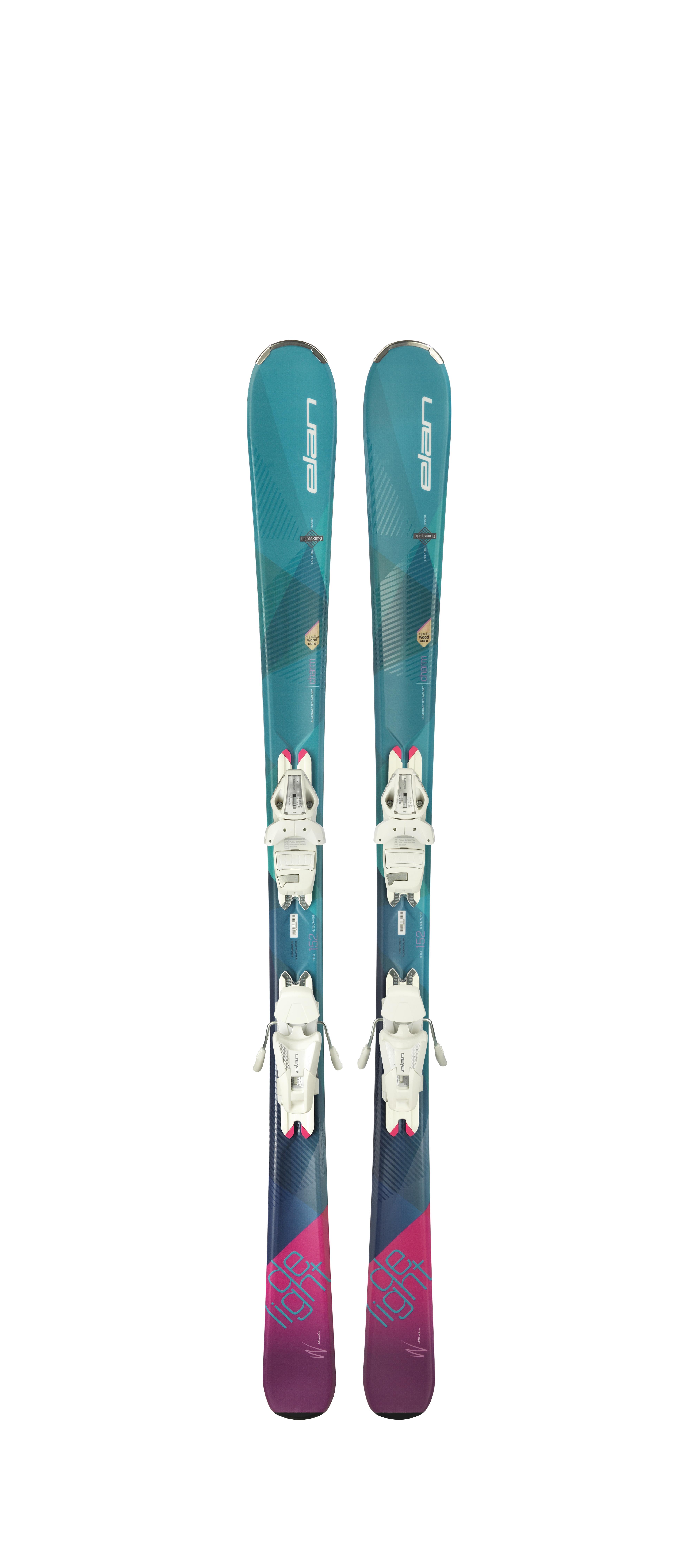 Горные лыжи с креплениями Elan 2017-18 DELIGHT CHARM LS ELW9.0