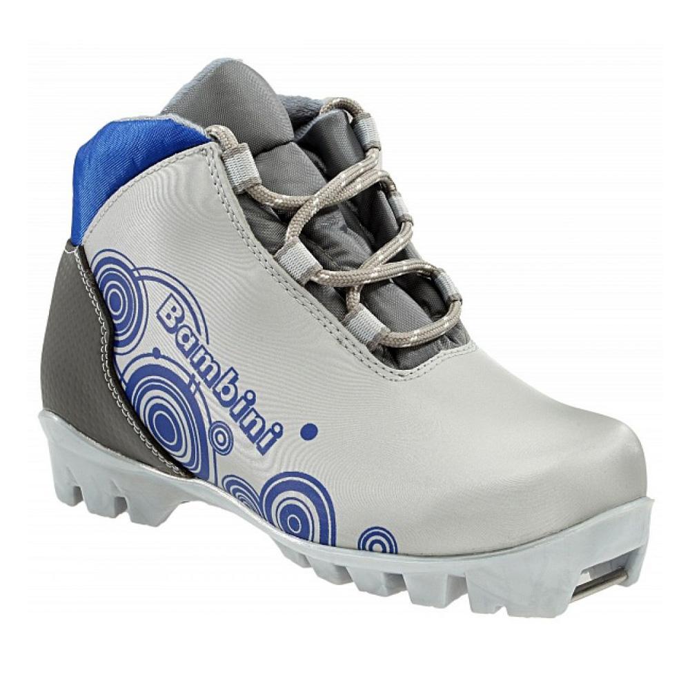 Лыжные ботинки NNN MARPETTI 2014-15 BAMBINI NNN silver blue - артикул: 605720423
