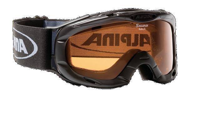 Очки горнолыжные Alpina Ruby S black_SH S1, Горнолыжные очки и маски - арт. 713540418