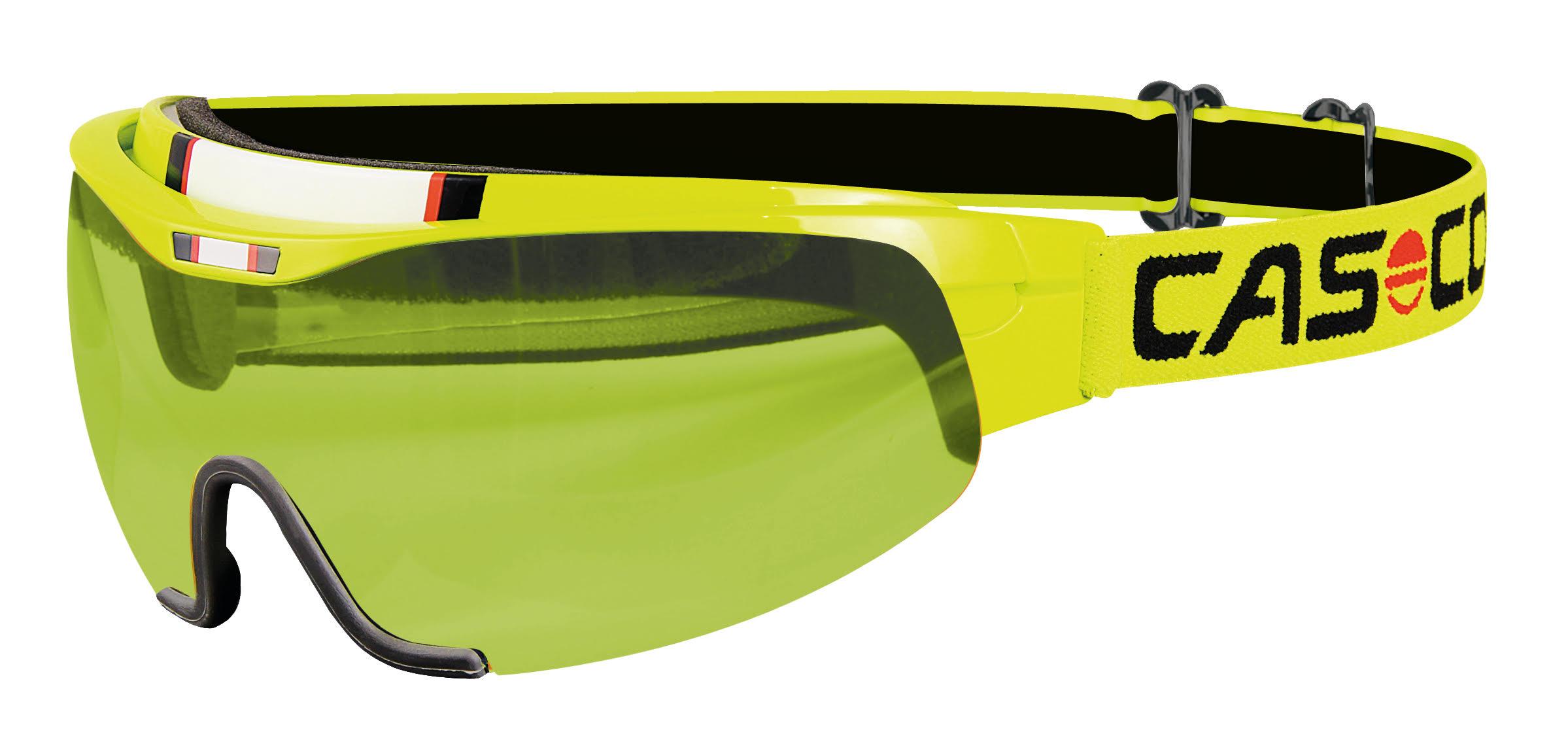 Визор Casco 2015-16 SMU Spirit Neon Yellow Yellow lens