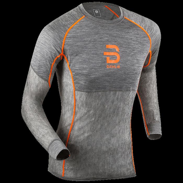 Футболка с длинным рукавомом Bjorn Daehlie 2017-18 Shirt Airnet Shocking Orange - артикул: 973060179