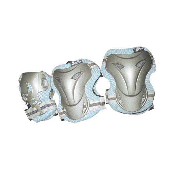 Комплект 3-х элементов защиты TEMPISH 2016 JOLLY 3-set (knee+elbow+wrists) синий, Защита при езде на роликовых коньках - арт. 739160432